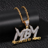 Motivated By Money Pendant