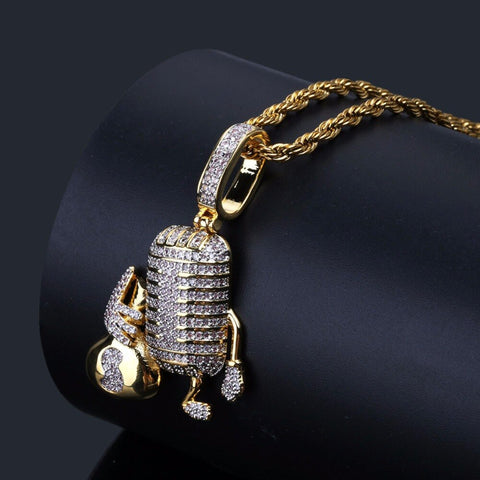 Money Microphone Pendant