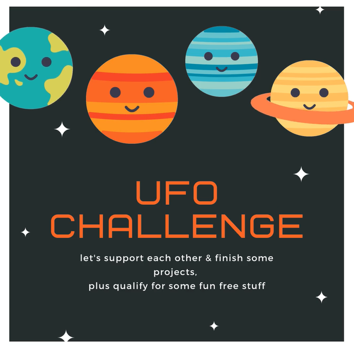 Join our Facebook Group's UFO Challenge