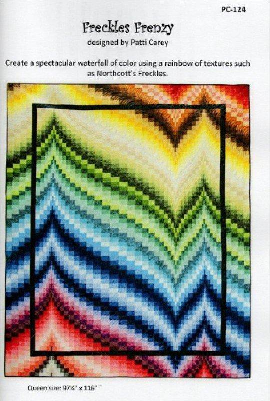Freckles Frenzy Bargello Quilt Pattern, Patti Carey - Fabrics N Quilts