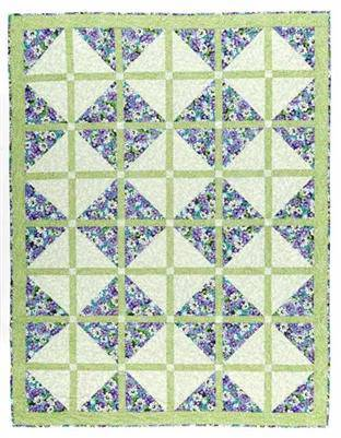 3 Yard Quilts, Pretty Darn Quick, Fabric Cafe - Fabrics N Quilts