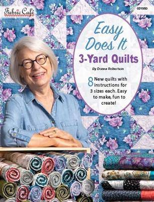 3 Yard Quilts, Easy Does It, Fabric Cafe - Fabrics N Quilts