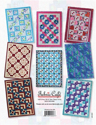 3 Yard Quilts, Quilts in a Jiffy, Fabric Cafe