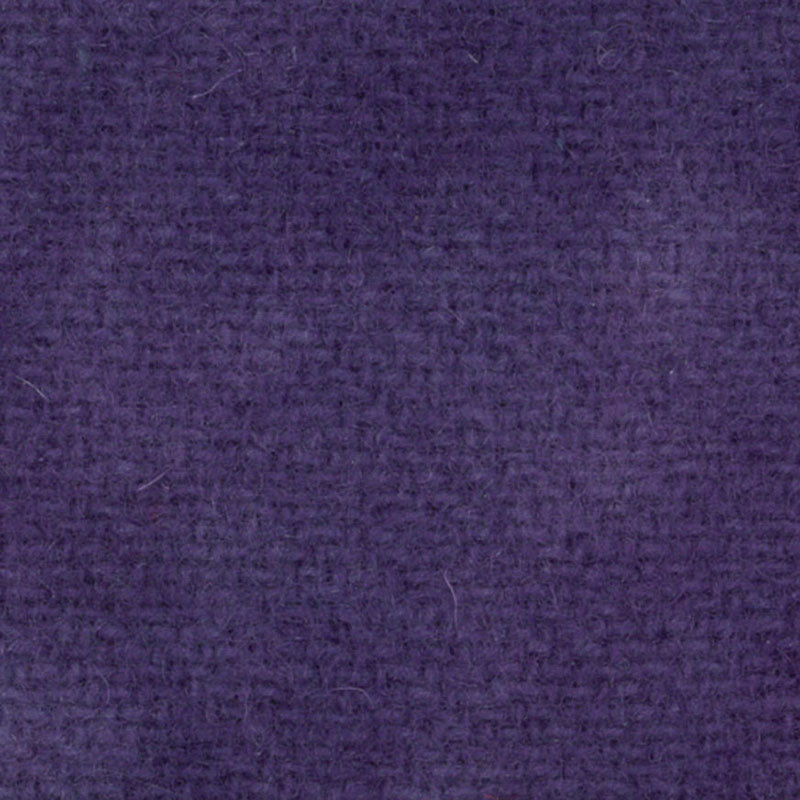 Wool Fat Quarter Wood Violet Solid PRI-5048 - Fabrics N Quilts