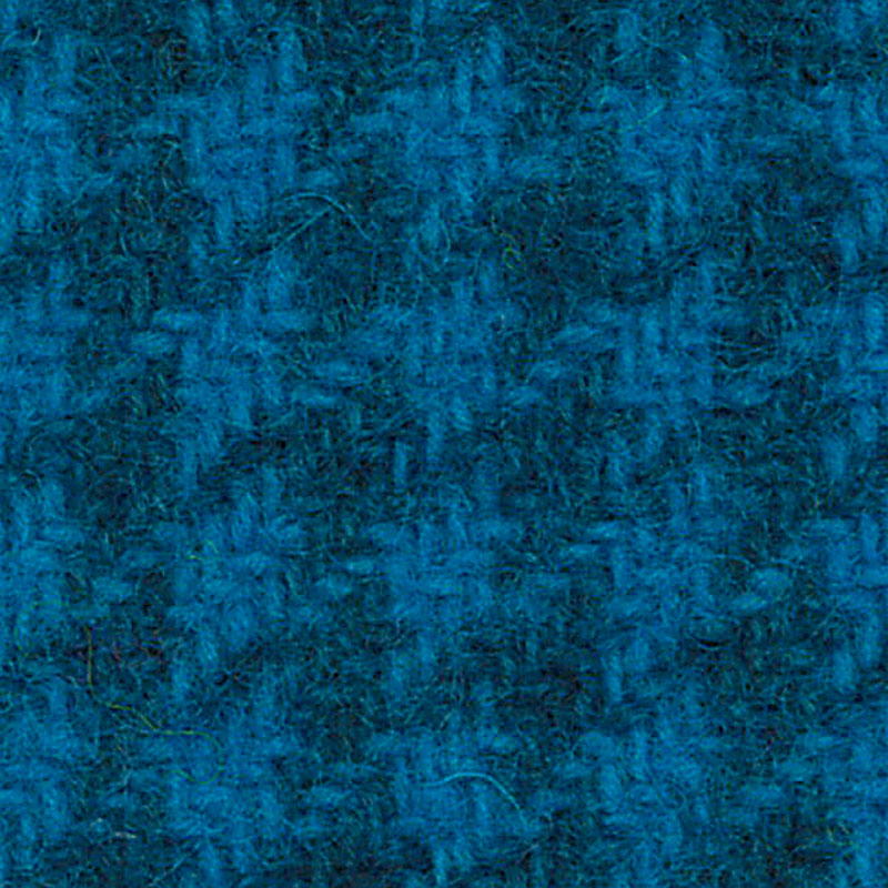 Wool Fat Quarter Electric Blue Houndstooth PRI-5138 - Fabrics N Quilts