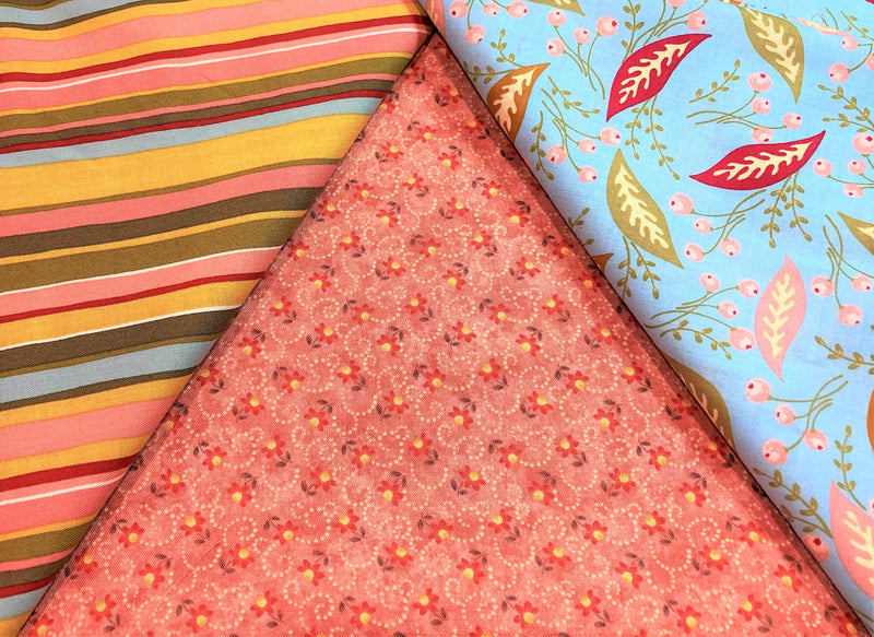 3 Yard Quilt Kit -Buds in Bloom - Fabrics N Quilts
