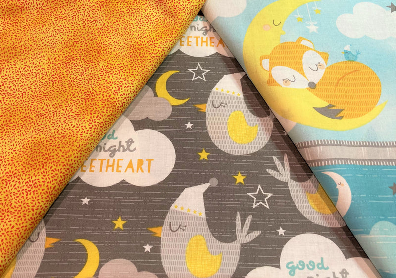 3 Yard Quilt Kit -Goodnight Sweetheart - Fabrics N Quilts