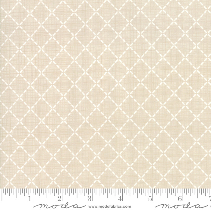 Wonder Linen 13197-17 Novelty Crosshatch - Fabrics N Quilts