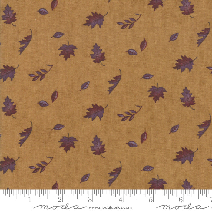 Country Charm Sunflower 6793-14 Falling Leaves Gold - Fabrics N Quilts