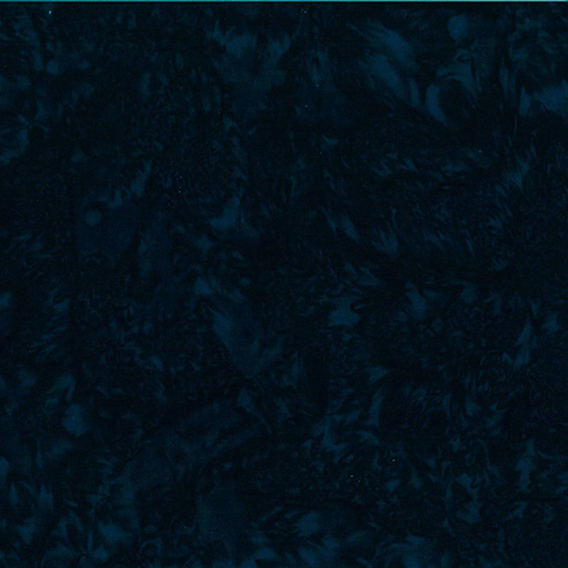 1895-703 Deep Teal Watercolor Batik - Fabrics N Quilts