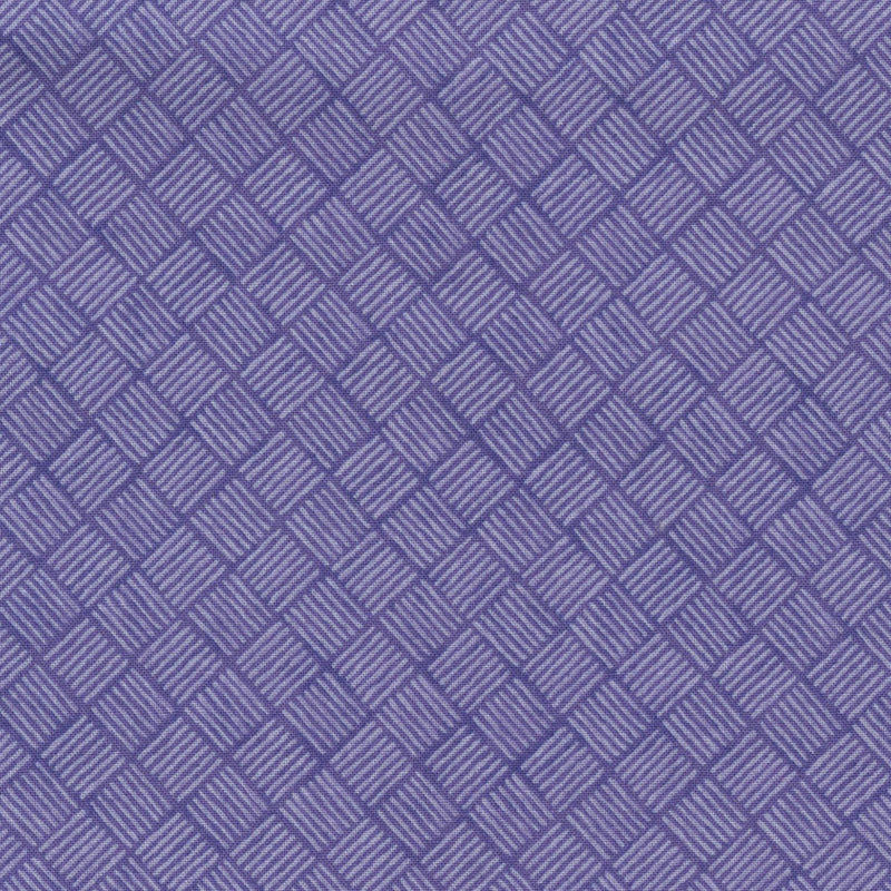 Quilters Cupboard 1915-05, Crosshatch Orchid Purple - Fabrics N Quilts