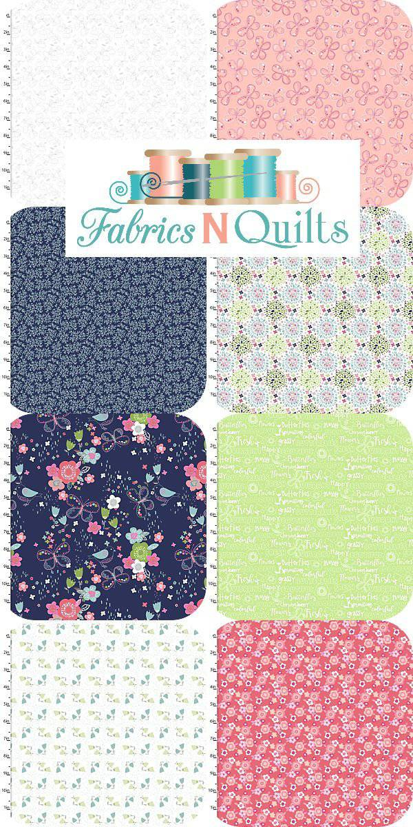 Hello Spring 8 FQ bundle - Fabrics N Quilts