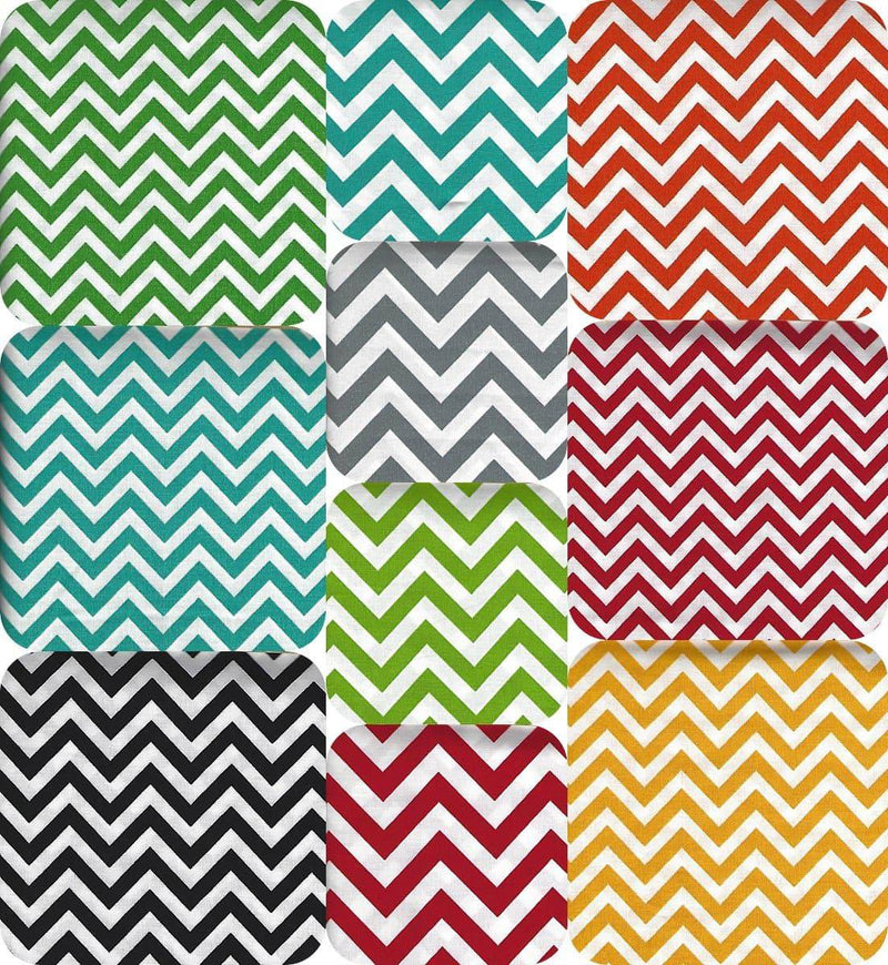Half Moon Modern 10 Fat Quarter Bundle Chevron Zig Zag - Fabrics N Quilts