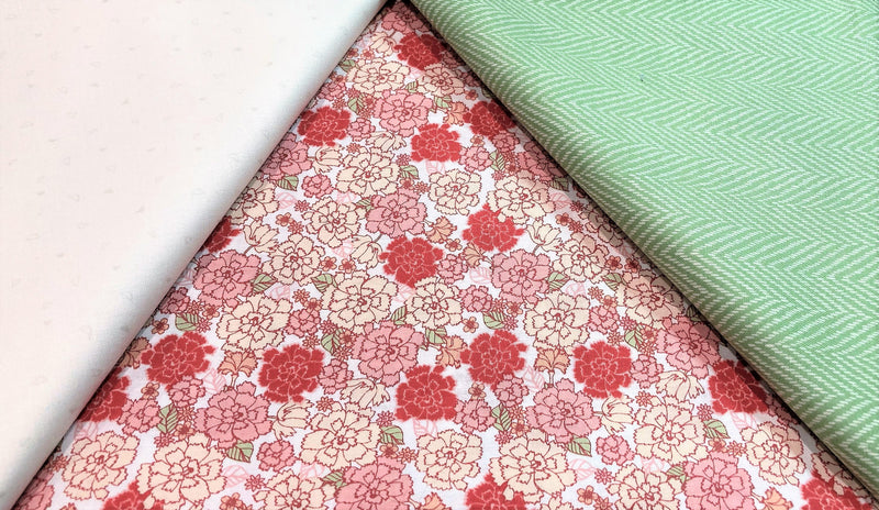 3 Yard Quilt Kit - Carnations - Fabrics N Quilts