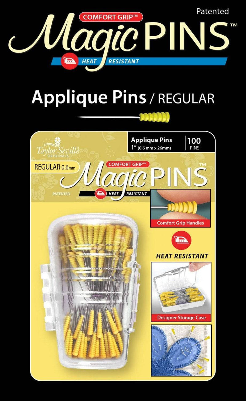 Magic Pins 100ct Applique 1in - Fabrics N Quilts