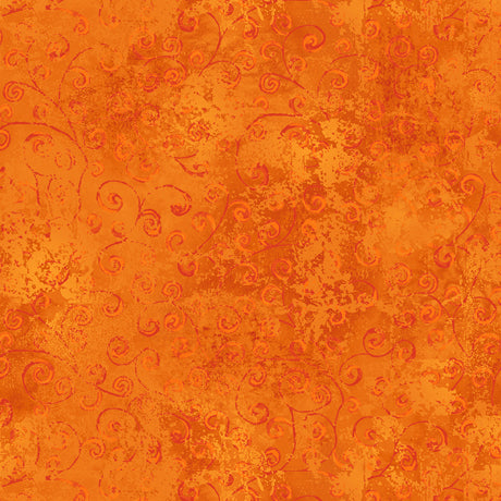 Quilting Temptations-Carrot Orange 22542-O - Fabrics N Quilts