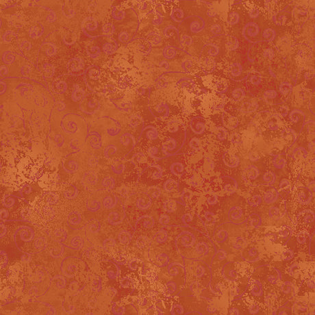 Quilting Temptations-Terracotta Rust Orange 22542-T