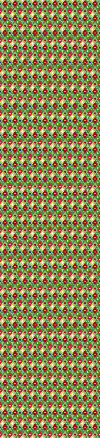 Happy Christmas Mini Diamonds-Green 27259-G - Fabrics N Quilts