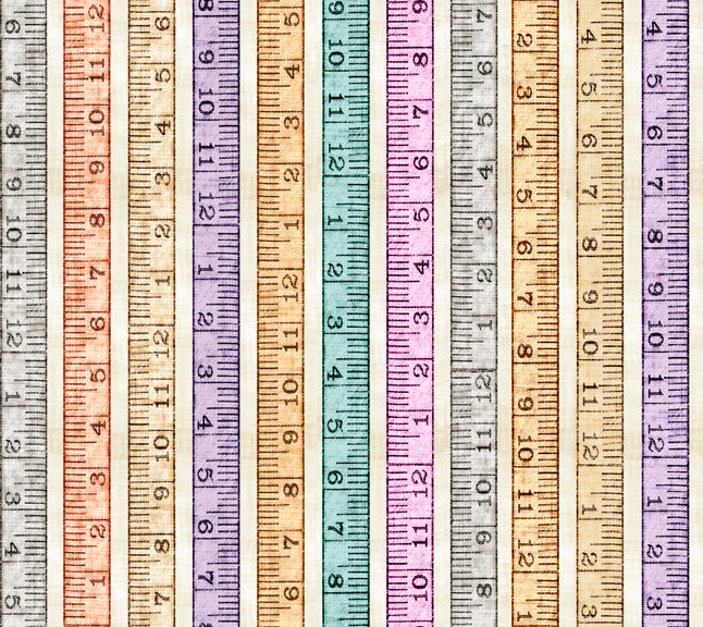 Tailor Made, Tape Measure, Multi 27342-E - Fabrics N Quilts