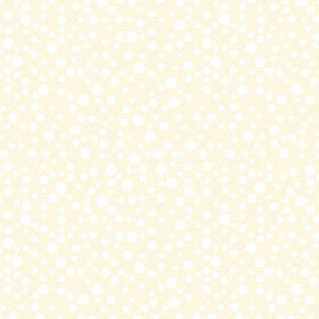 Quilting Illusions Tossed Dots, Cream, 21521-E - Fabrics N Quilts