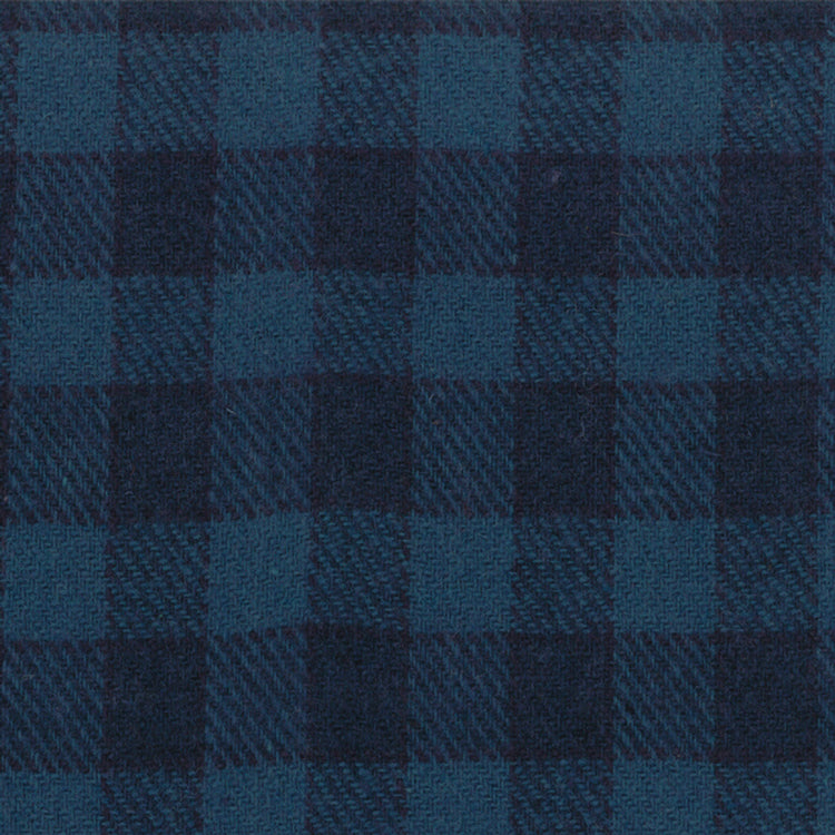 Wool Fat Quarter Independence Trail Blue Plaid 54811-23 - Fabrics N Quilts