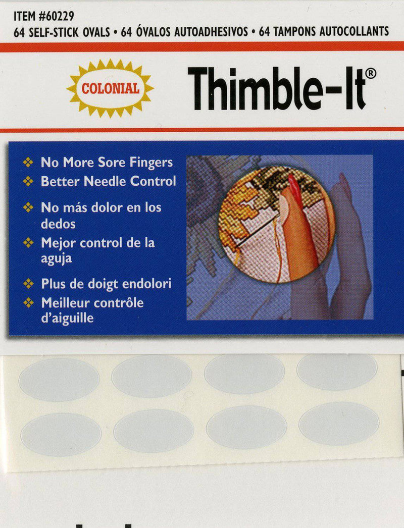 Thimble-It Self Adhesive Finger Pads - Fabrics N Quilts