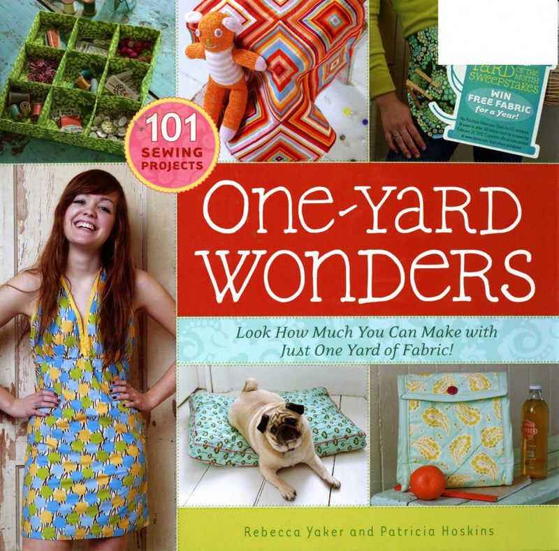 101 One Yard Wonders Book, Patricia Hoskins - Fabrics N Quilts