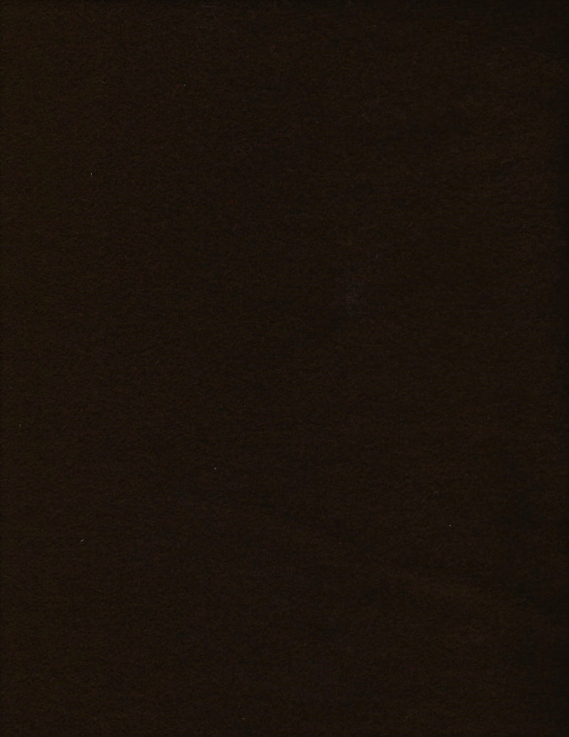 Wool Solid Moda 810-58 Dark Chocolate Brown 80/20 Blend - Fabrics N Quilts