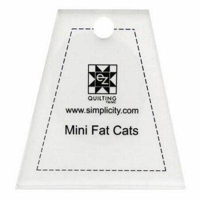 EZ Mini Dresden Fat Cat Quilt Template Ruler - Fabrics N Quilts