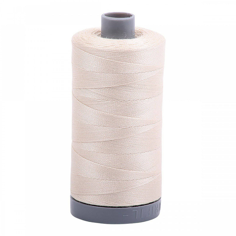 Aurifil 28wt 750m 2310 Light Beige - Fabrics N Quilts