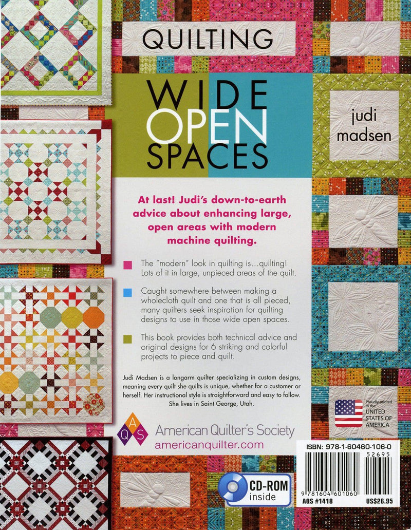 Quilting Wide Open Spaces, Judi Madsen - Fabrics N Quilts