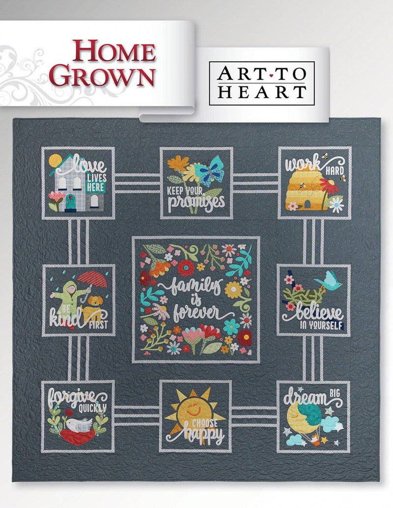 Home Grown, Art to Heart Nancy Halvorsen - Fabrics N Quilts