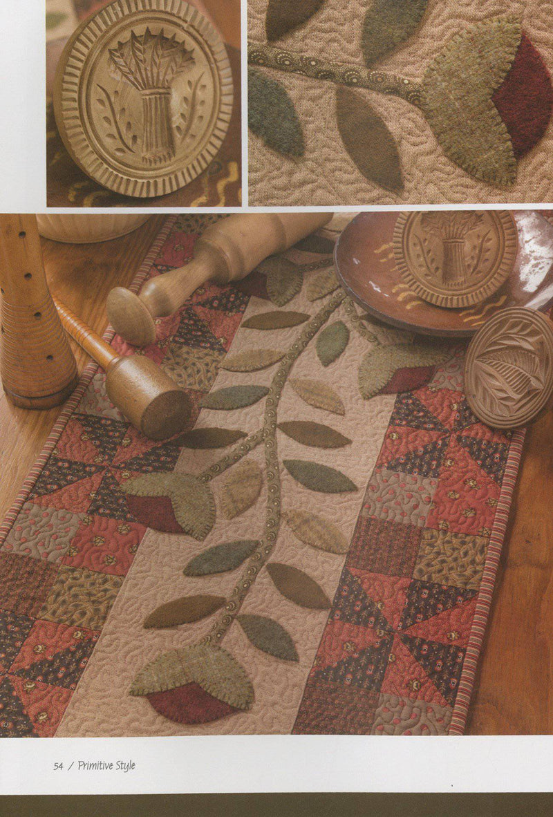 Primitive Style, Jenifer Gaston Woolen Willow Designs - Fabrics N Quilts