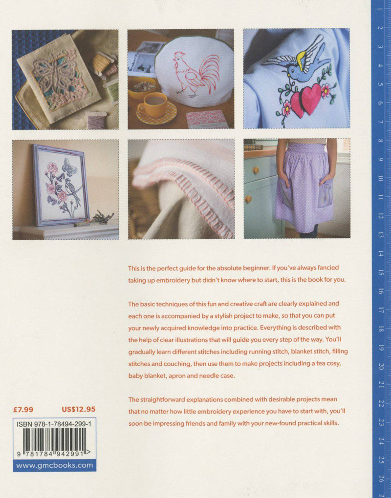 How to Embroider, Susie Johns - Fabrics N Quilts