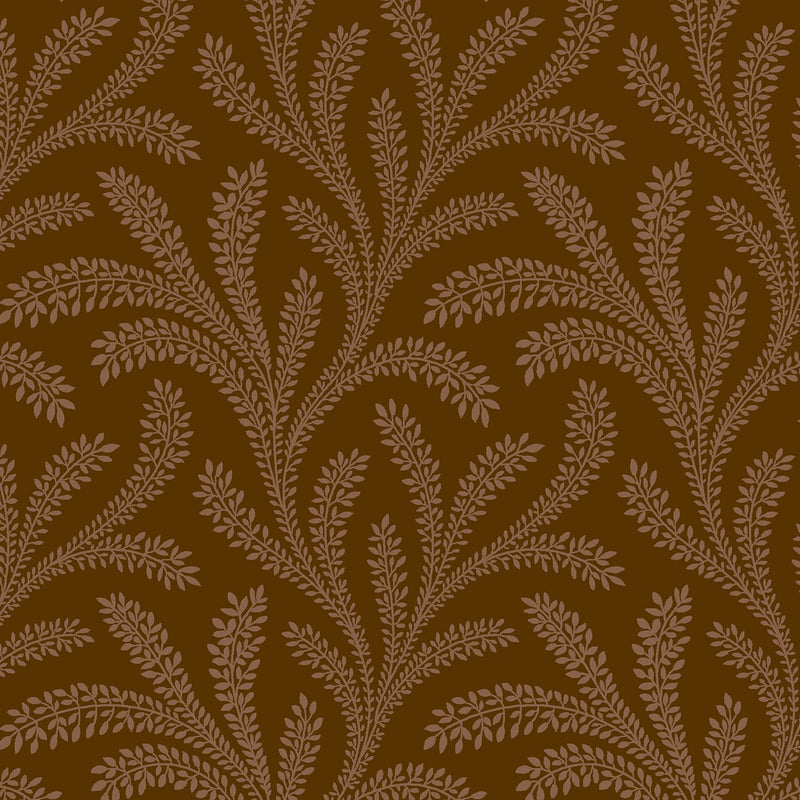 Brown Vines Historical Reproduction 108in Wide Back - Fabrics N Quilts