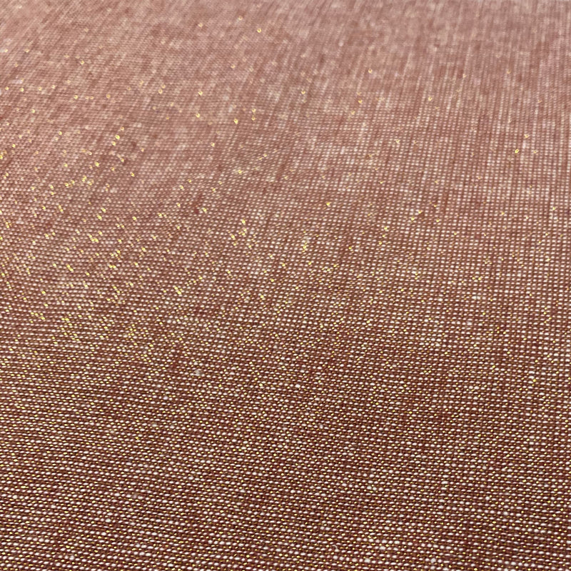 Essex Yarn Dyed Metallic Copper 1086 - Fabrics N Quilts
