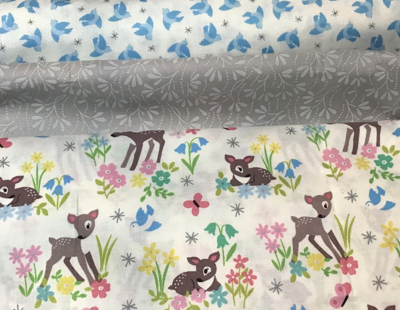 3 Yard Quilt Kit - So Darling Deer - Fabrics N Quilts