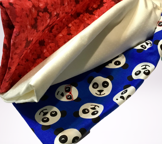 3 Yard Quilt Kit - Panda with Glasses - Fabrics N Quilts
