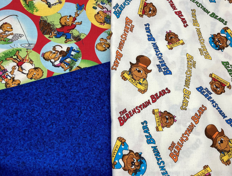 3 Yard Quilt Kit - Berenstain Bears - Fabrics N Quilts