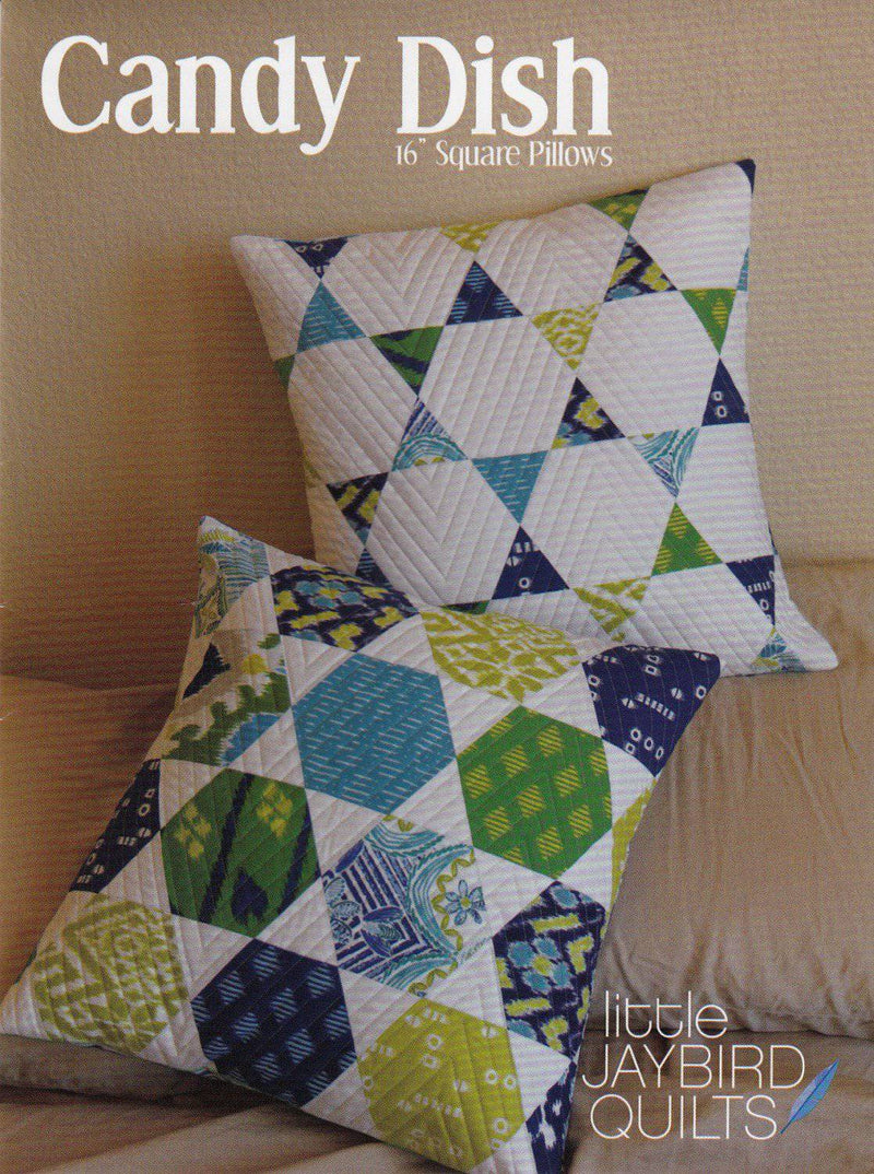 Candy Dish Pillow Sewing Pattern, Jaybird Quilts - Fabrics N Quilts