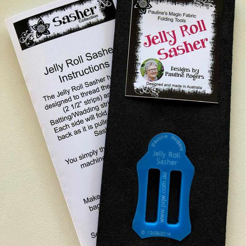 2.5 inch Jelly Roll Sasher for Jelly Roll Rug, Pauline Rogers - Fabrics N Quilts