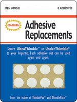Ultra Thimble-additional adhesive dots - Fabrics N Quilts