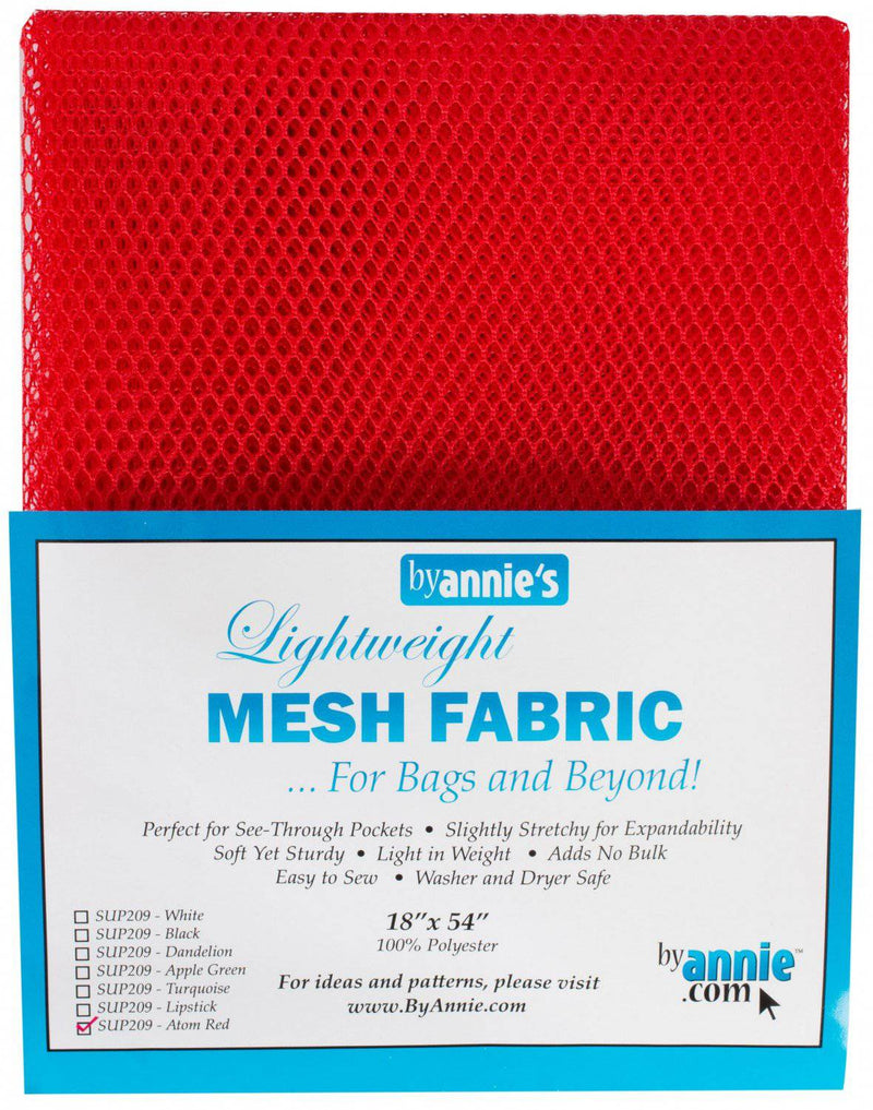 "Lightweight Mesh Fabric, click for colors, 18 x 54"" - Fabrics N Quilts"
