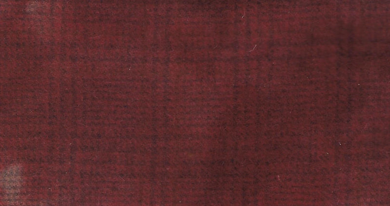 Wool Fat Quarter Red Rose Marbled Plaid WWD-21 - Fabrics N Quilts