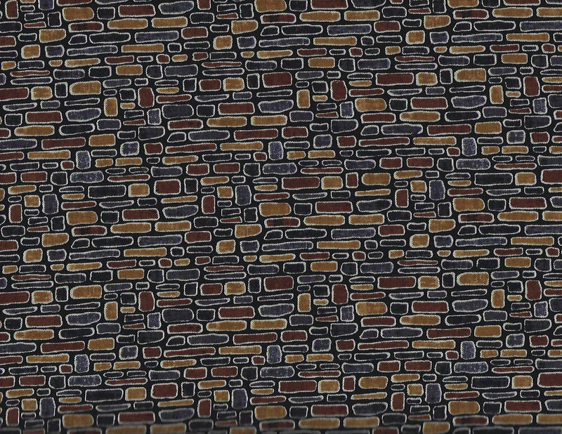 Row by Row Brick Stone Wall C4497 Stone Timeless Treasures - Fabrics N Quilts