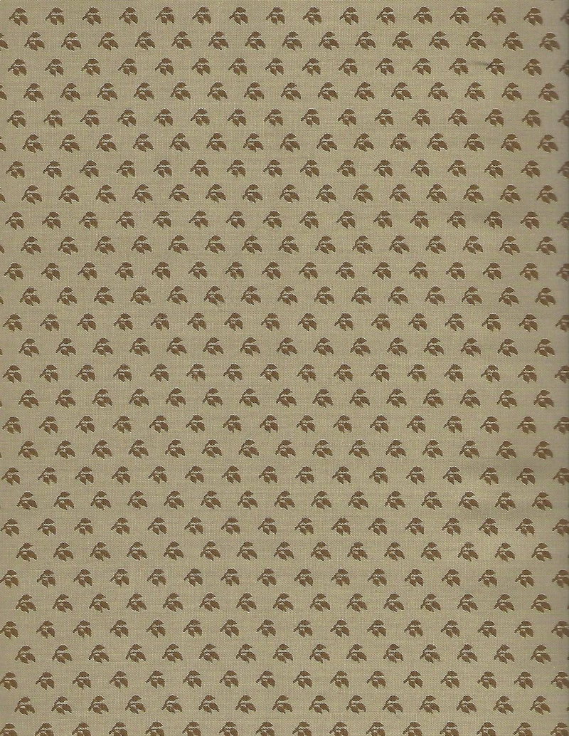 Elizas Indigo Tan Cream Twig 31506-25 - Fabrics N Quilts