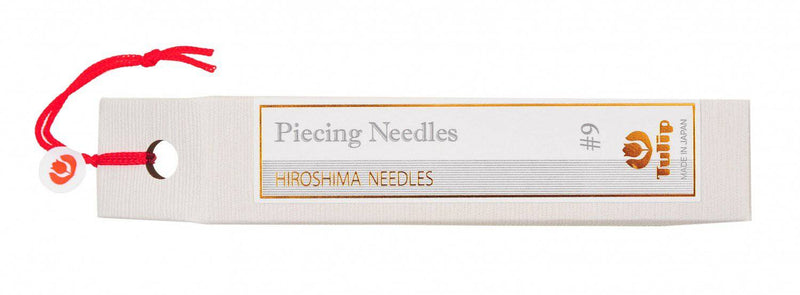 Hiroshima Tulip Hand Piecing Needles, Size 9 - Fabrics N Quilts