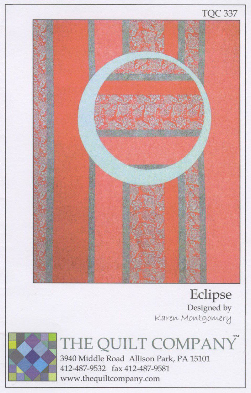 Eclipse Quilt Pattern, The Quilt Company - Fabrics N Quilts