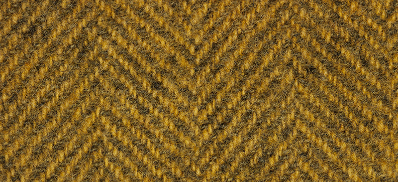 Wool Fat Quarter Weeks Herringbone Whiskey 2219HB - Fabrics N Quilts