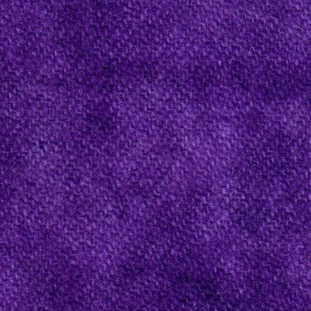 Wool Fat Quarter Marbled Solid Wooly Lady Amethyst - Fabrics N Quilts